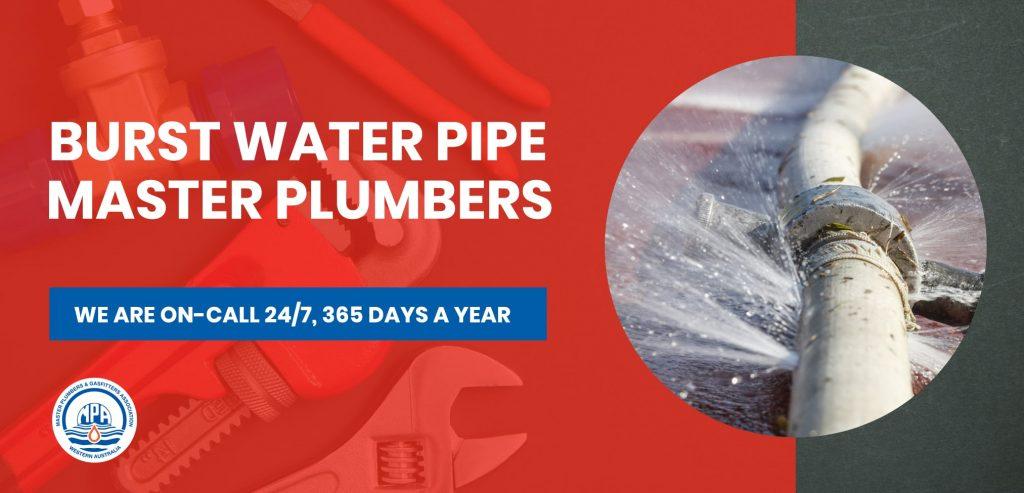 burst-water-pipe-plumber-brisbane